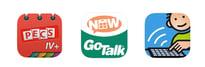 UK Apps PECS, GoTAlkNow, MetaTalk
