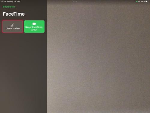 FaceTime-Link iPadOS 15