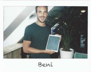 ACP eduWERK Team - Beni