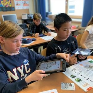 Stationenbetrieb mit dem edu-iPad