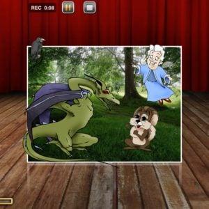 Animation von Kurzgeschichten mit PuppetPals am EDU-iPad
