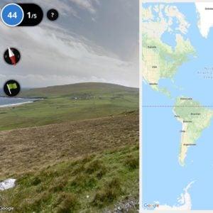 Geografie-Lernspiel GeoGuessr am edu-iPad