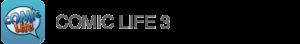App Comic Life 3 Icon Text