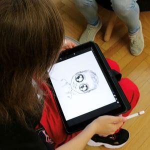 Mümsik Art on iPad