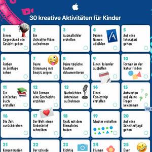 Kreative Aktivitäten mit dem iPad